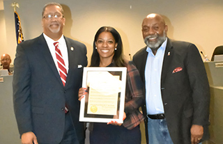 Mayor Lary and Councilman Turner Issue Proclamation to Lambert Chiropractic and Wellness Center