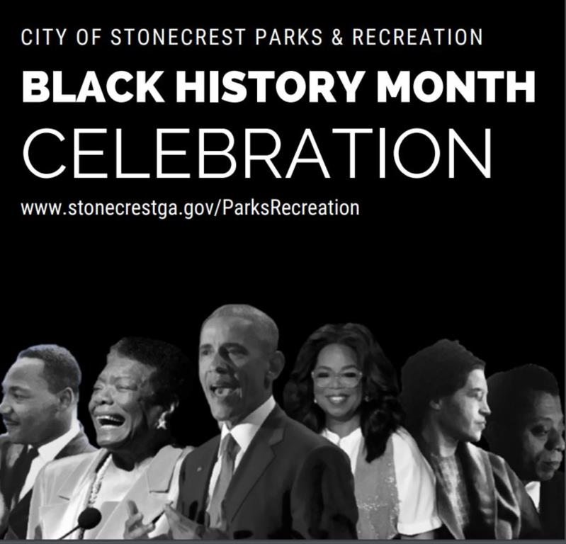 Black History Month Booklet Cover