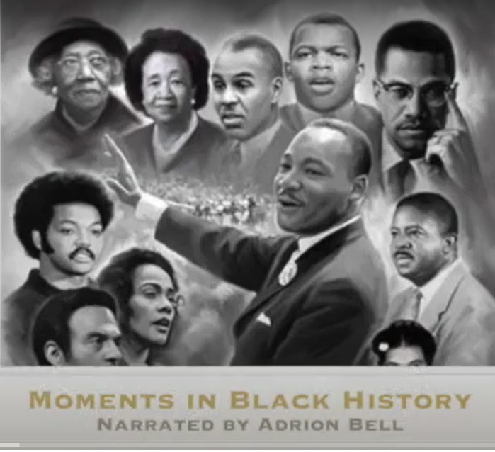 Moments in Black History Cover Art
